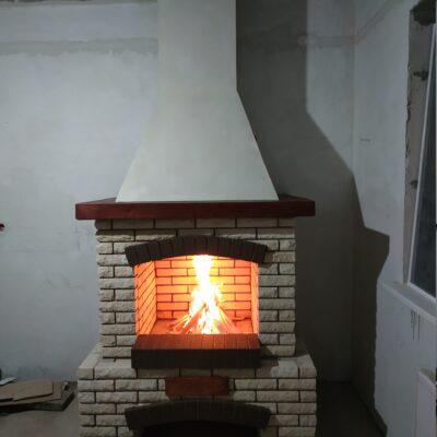 2камин с открытой топкой 780 мм и загильзовкой дымохода в шахту проект до 200 т.р. серпухов 2020 (1)