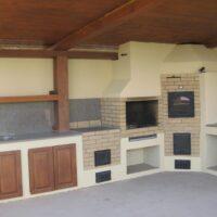 большая летняя кухня из шамотного кирпича заокский район к.п. капитанская дочка 2013
