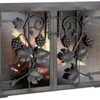 дверки для камина с огнеупорным стеклом от 30 т.р.