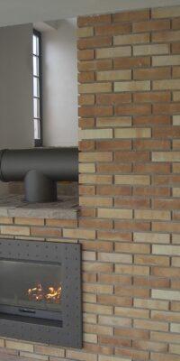 камин из кирпича в стиле лофт велегож 2014